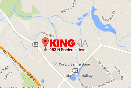 King Kia 953 North Frederick Ave. Gaithersburg, MD 20879