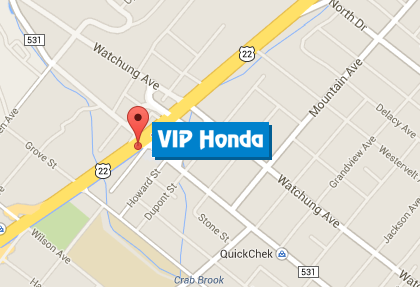 VIP Honda 700 Route 22 East  North Plainfield, NJ 07060